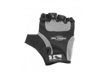 Велоперчатки M-Wave Gel, черный / серый
